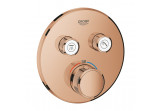 Concealed mixer Grohe Grohtherm SmartControl thermostatic 2-receivers wody, warm sunset