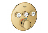 Concealed mixer Grohe Grohtherm SmartControl, thermostatic, 3-receivers wody, cool sunrise