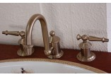 Washbasin faucet Kohler Antique 3-hole
